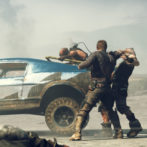 Mad Max Xbox One - Max ambushed by bandits