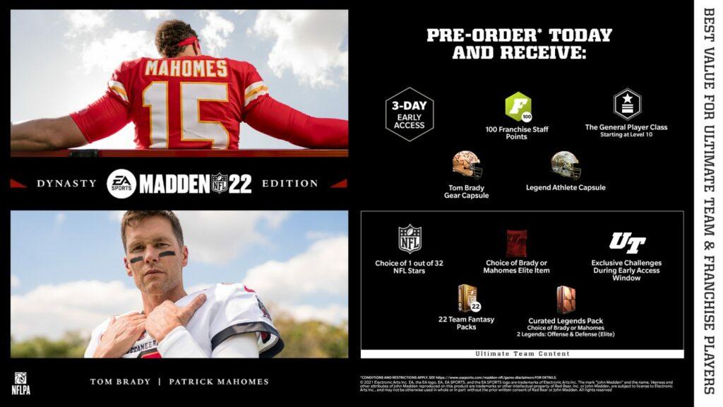 Buy Madden NFL 22 Dynasty Edition Cheap
