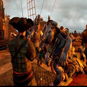 Man O War Corsair - Fight
