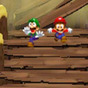 Mario Luigi Dream Team Bros Nintendo 3DS Running