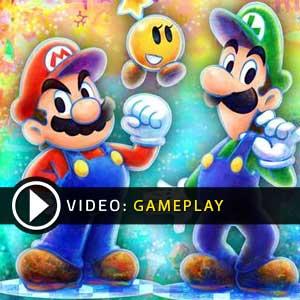 Mario Luigi Dream Team Bros Nintendo 3DS Gameplay Video