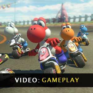 Mario Kart 8 Deluxe Nintendo Switch Gameplay Video