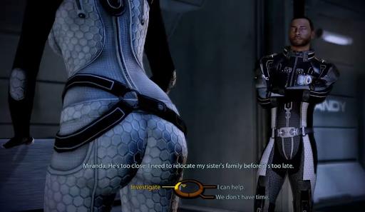 Mass Effect Legendary Edition Shepard and Miranda