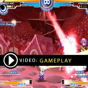Melty Blood Actress Again Current Code Gameplay Video
