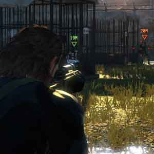 Metal Gear Solid 5 Ground Zeroes - Locked on Target