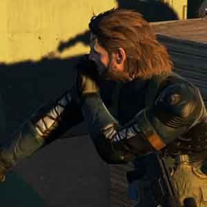 Metal Gear Solid 5 Ground Zeroes - A Punch on the Face