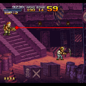 Metal Slug X Gameplay
