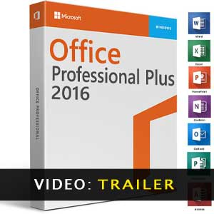 Microsoft Office 2016 Professional Plus Trailer Video