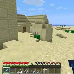 Minecraft PS4 - Gameplay