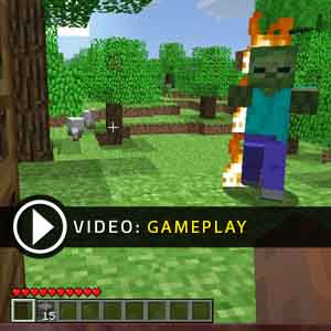 Minecraft PS4 Gameplay Video
