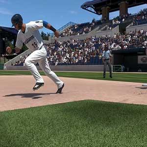 batting in the field