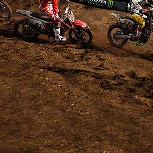 Supercross endless gameplay