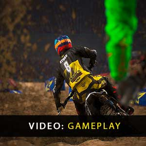 Monster Energy Supercross The Official Videogame 3 Gameplay Video