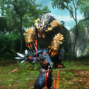 Monster Hunter 3 Ultimate Nintendo 3DS Fight