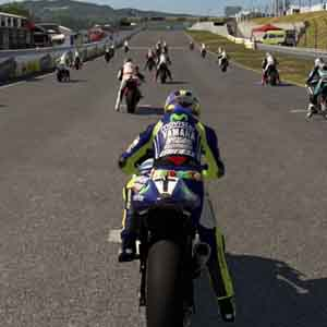 MotoGP 15 PS4 Player View