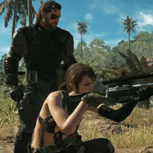 Metal Gear Solid 5 The Phantom Pain - Venom Snake and Quiet