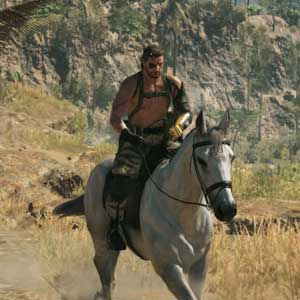 Metal Gear Solid 5 The Phantom Pain - Horse Ride