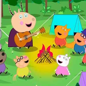 My Friend Peppa Pig Campsite