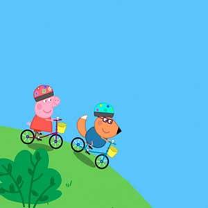 My Friend Peppa Pig Bike ride