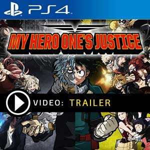 My Hero One's Justice PS4 Prices Digital or Box Edition