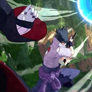 ninjas fighting simultaneously