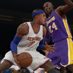 NBA 2k15 Offense - Defense