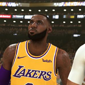 NBA 2K20 - LeBron James and Anthony Davis