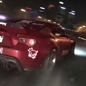 Need for Speed 2015 PS4 - Drifting