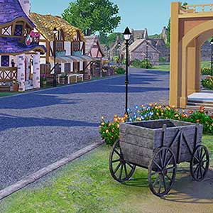 a quaint village