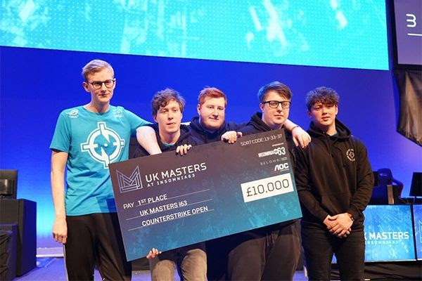 Prize cheque for 1st place at i63