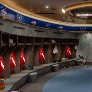 NHL 21 Locker Room