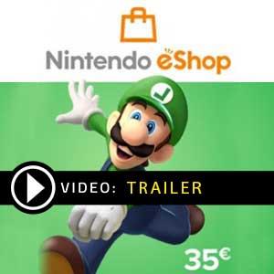 Nintendo eShop Card 35 EUR Digital Download Price Comparison