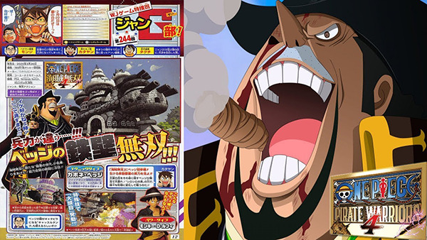One Piece Pirate Warriors 4's Roster