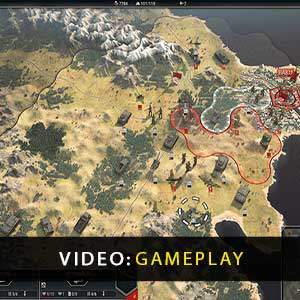 Panzer Corps 2 Gameplay Video