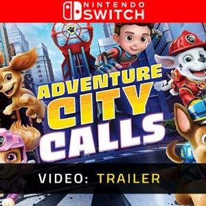 PAW Patrol The Movie Adventure City Calls Nintendo Switch Video Trailer