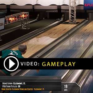 PBA Pro Bowling Gameplay Video