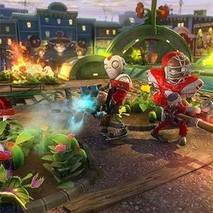 Plants vs Zombies Garden Warfare Fight