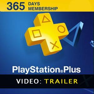 Playstation Plus 365 Days CARD PSN Video Trailer