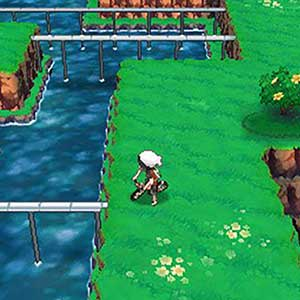 Pokemon Omega Ruby Nintendo 3DS Aerial View