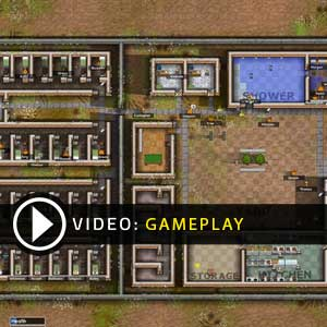 Prison Architect Video Gameplay