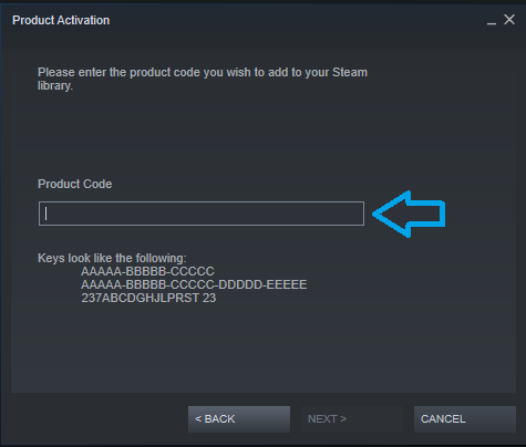 Steam Product Code