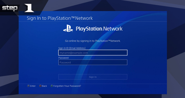 PlayStation 4 Temporary Account