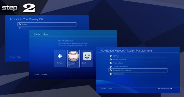 PlayStation 4 Temporary Account Setup