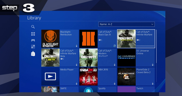 PlayStation 4 Library