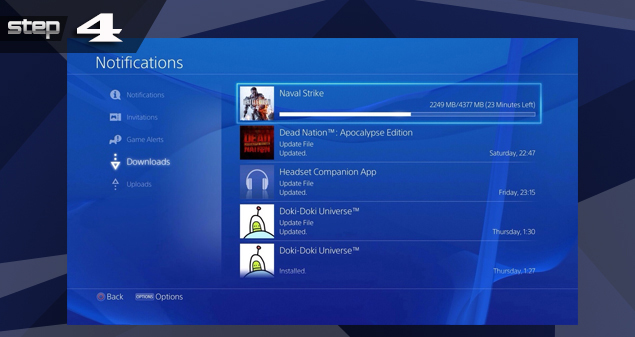 PlayStation 4 Game Download