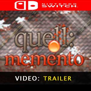 Quell Memento Nintendo Switch Prices Digital or Box Edition