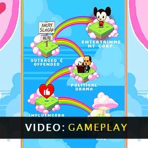 Rainbows, toilets & unicorns Gameplay Video
