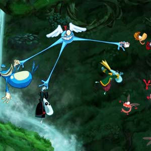 Rayman Origins - Jungle Challenge