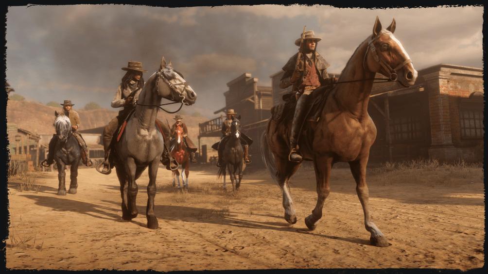 Red Dead Online Horses
