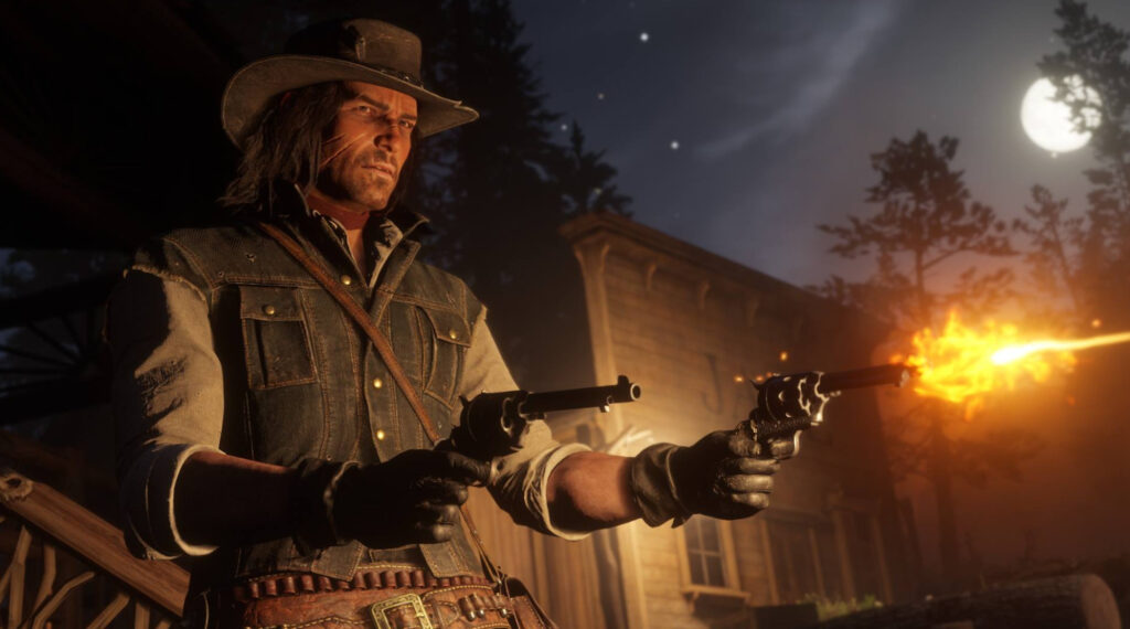 Red Dead Redemption 2 Shoot